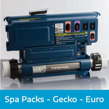 Spa Packs - Gecko - Euro