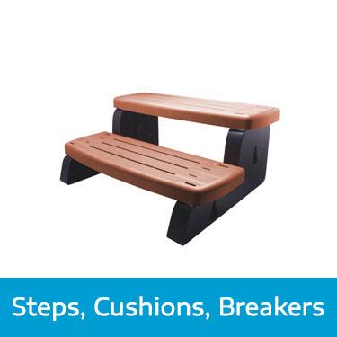 Steps, Cushions, Breakers